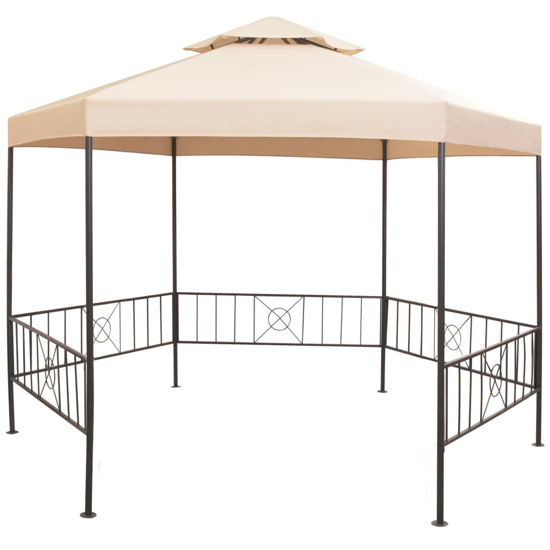 Picture of Outdoor Marquee Gazebo Tent - Beige