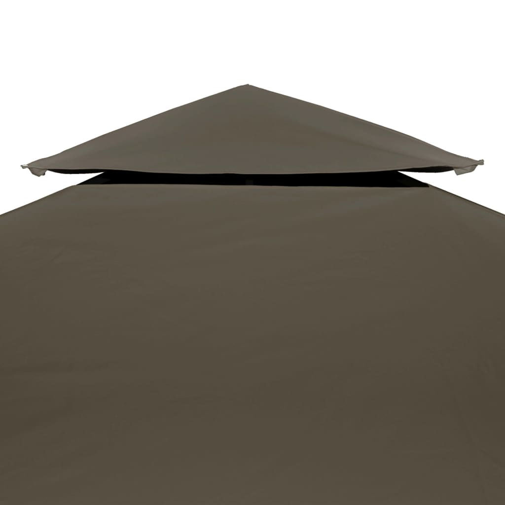 Picture of Outdoor Gazebo Top Cover - 2-Tier Taupe