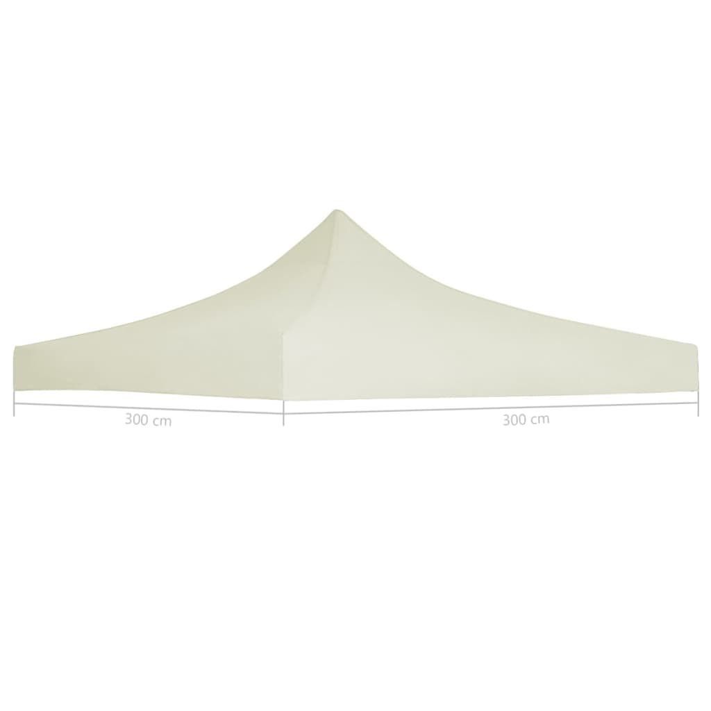 Picture of Outdoor Canopy Top Replacement 9.8ft x 9.8ft - Cream