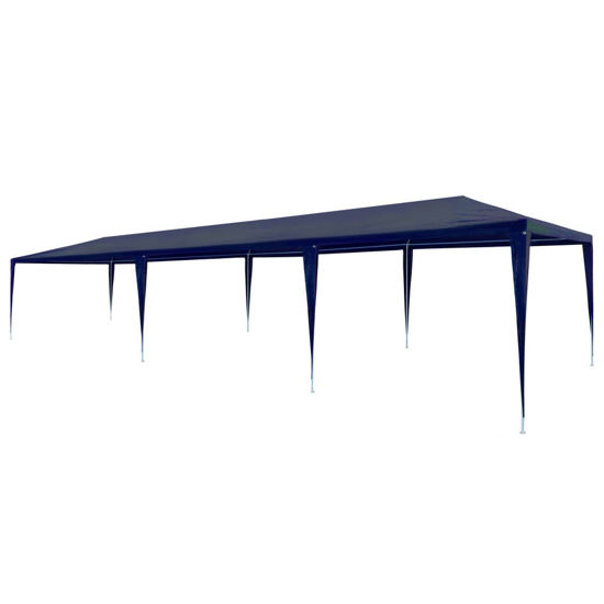Picture of Outdoor 10x30 Gazebo Tent - PE Blue