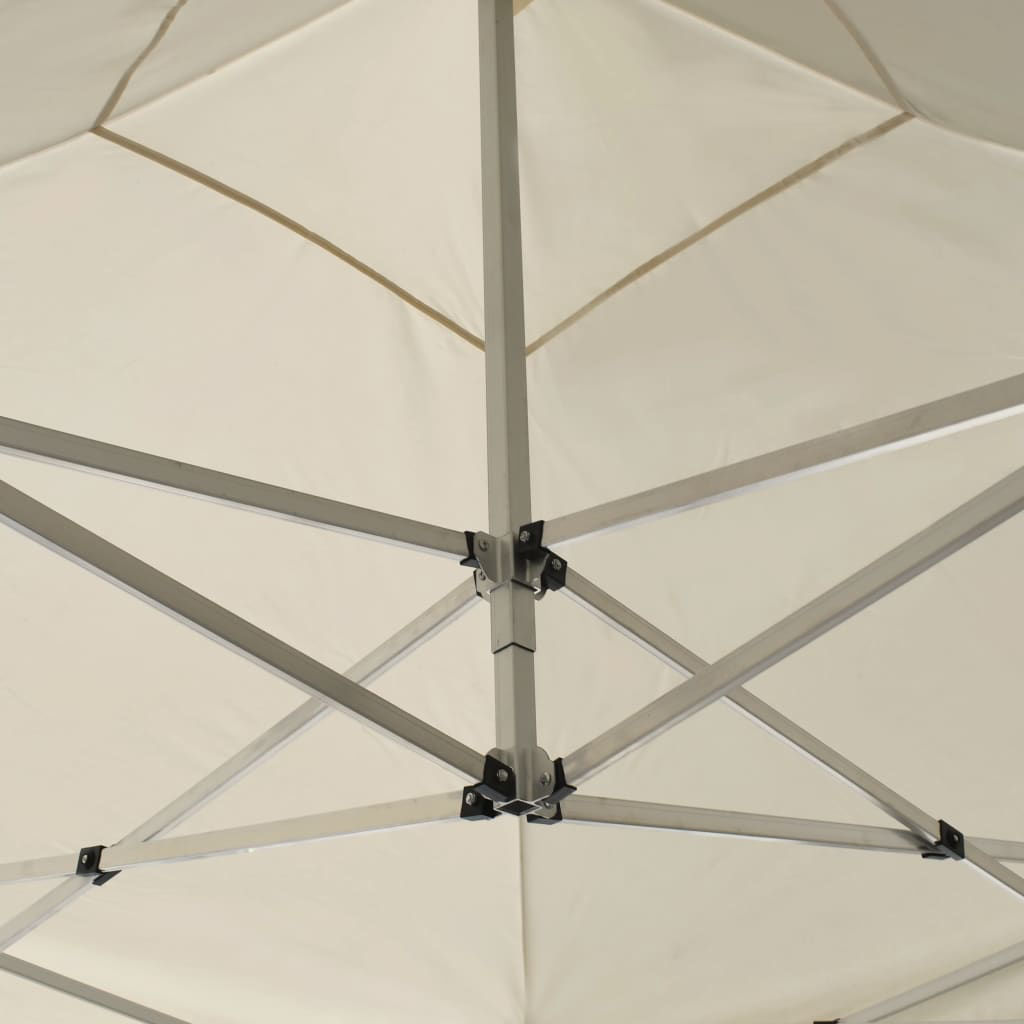 Picture of Outdoor Folding Aluminum Gazebo Tent - Cream