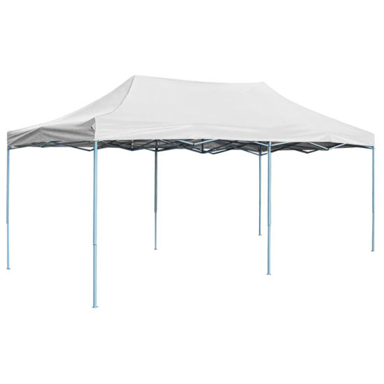Picture of Outdoor Steel Gazebo Folding Party Tent - White