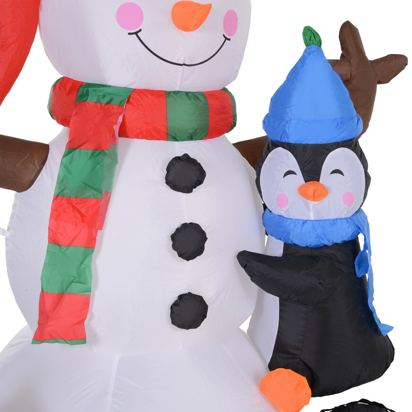Picture of Outdoor Christmas Inflatable Snowman with LED Lights