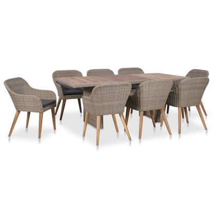 Picture of Outdoor Dining Set with Cushions