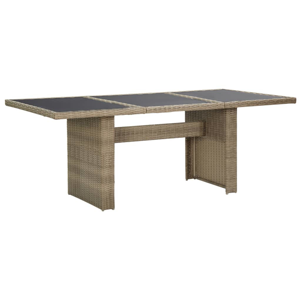 "Picture of Patio Dining Table 78"" - Brown"