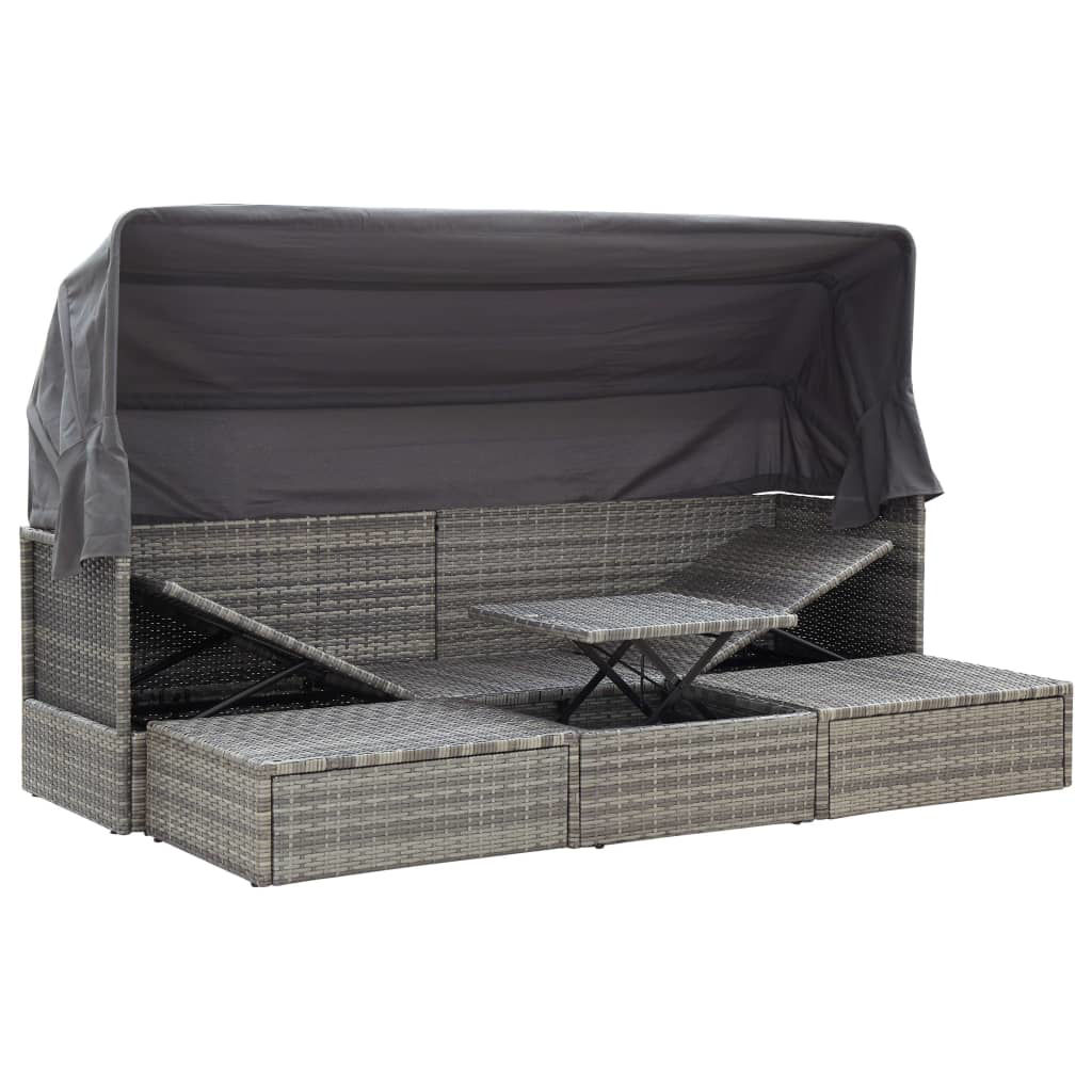"Picture of Outdoor Lounge Bed 78"" - Gray"