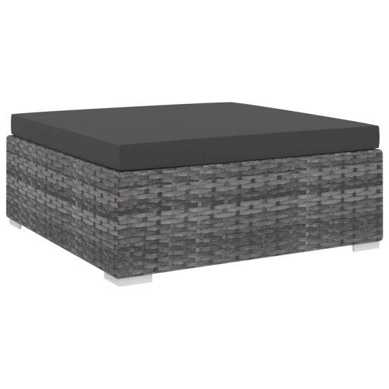 Picture of Outdoor Sectional Footrest - Gray
