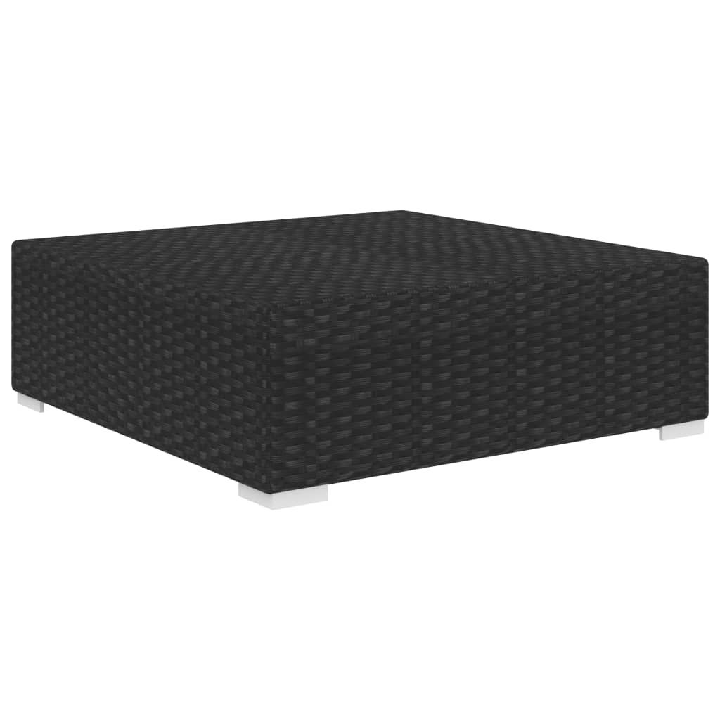 Picture of Outdoor Sectional Footrest - Black