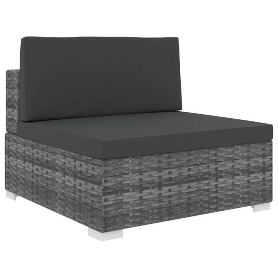 Picture of Outdoor Sectional Middle Seat - Gray