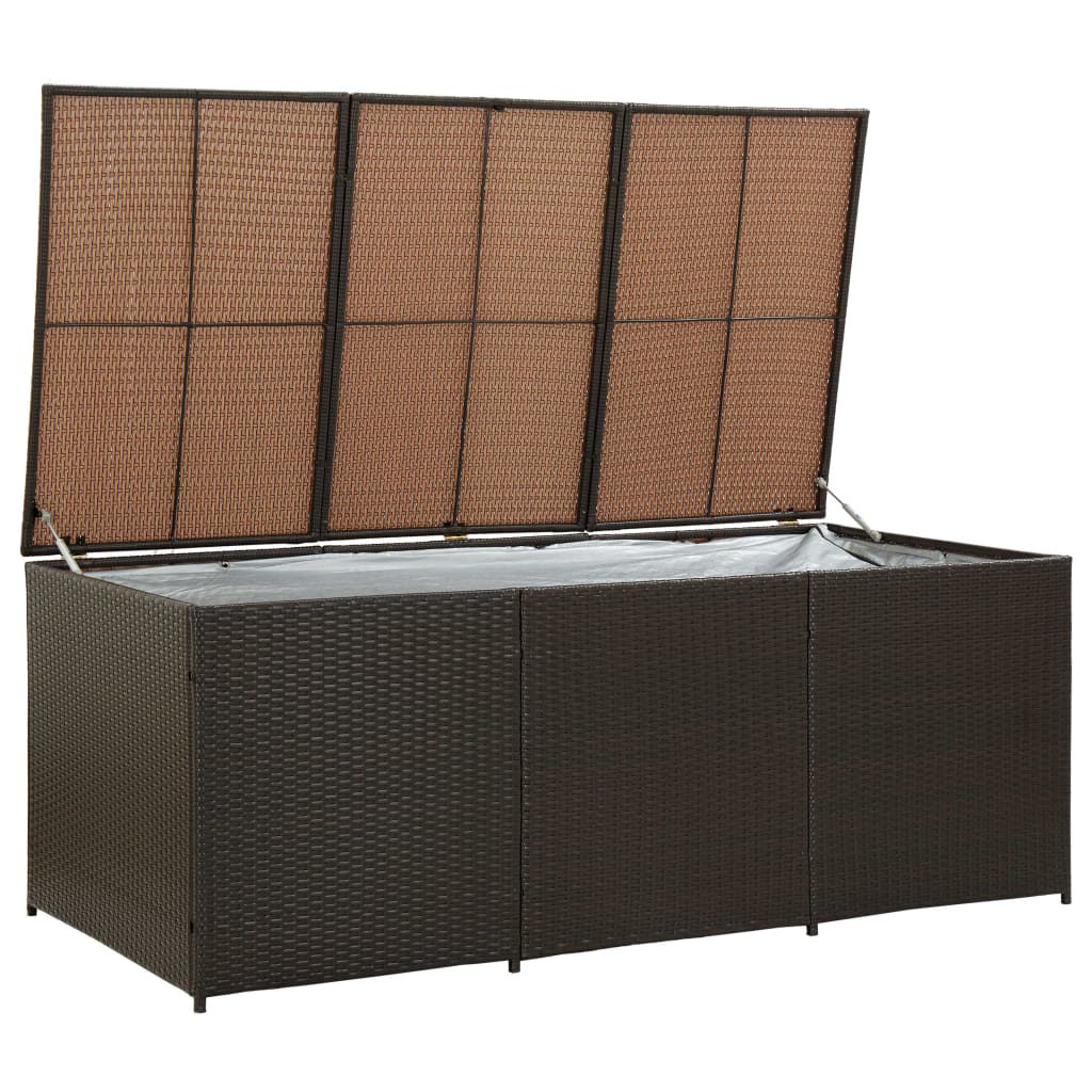"""Picture of Outdoor Storage Box - 70"""" Brown"""