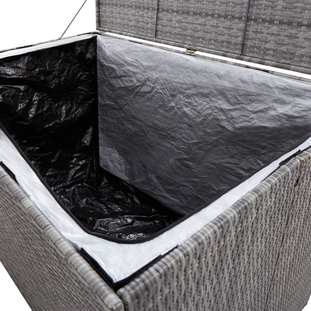 """Picture of Outdoor Storage Box - 59"""" Gray"""