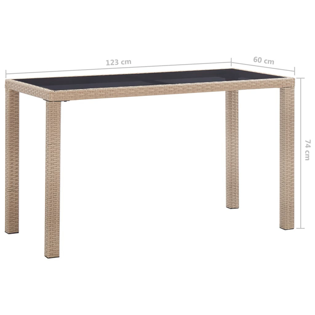 "Picture of Outdoor Patio Table - 48"" Gray"