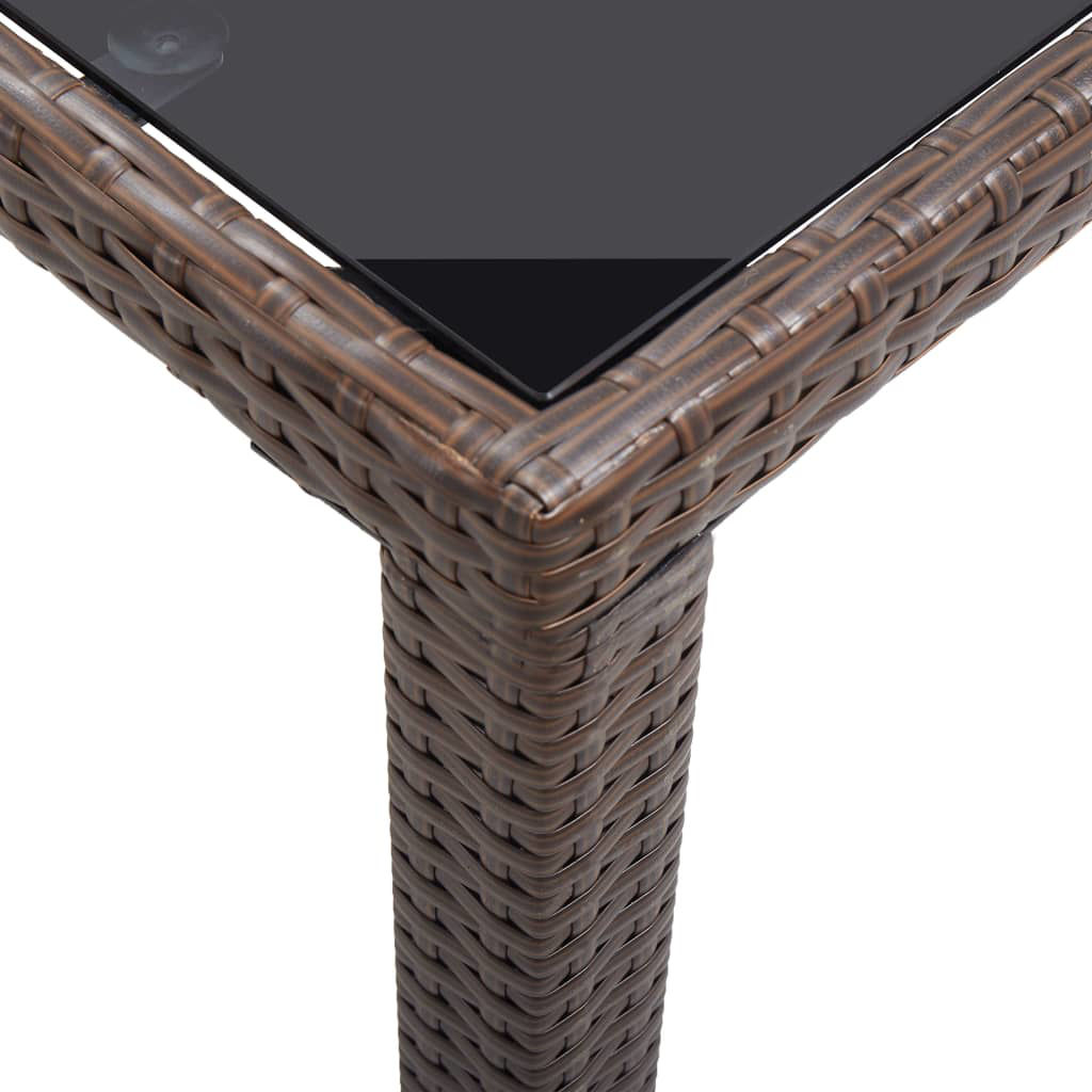 """Picture of Outdoor Patio Table - 48"""" Brown"""