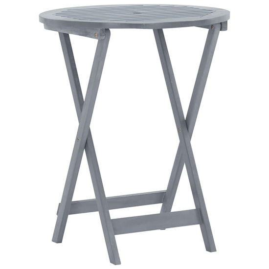 """Picture of Outdoor Folding Table 23"""""""