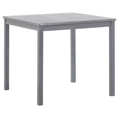 "Picture of Outdoor Table 31"" Gray"
