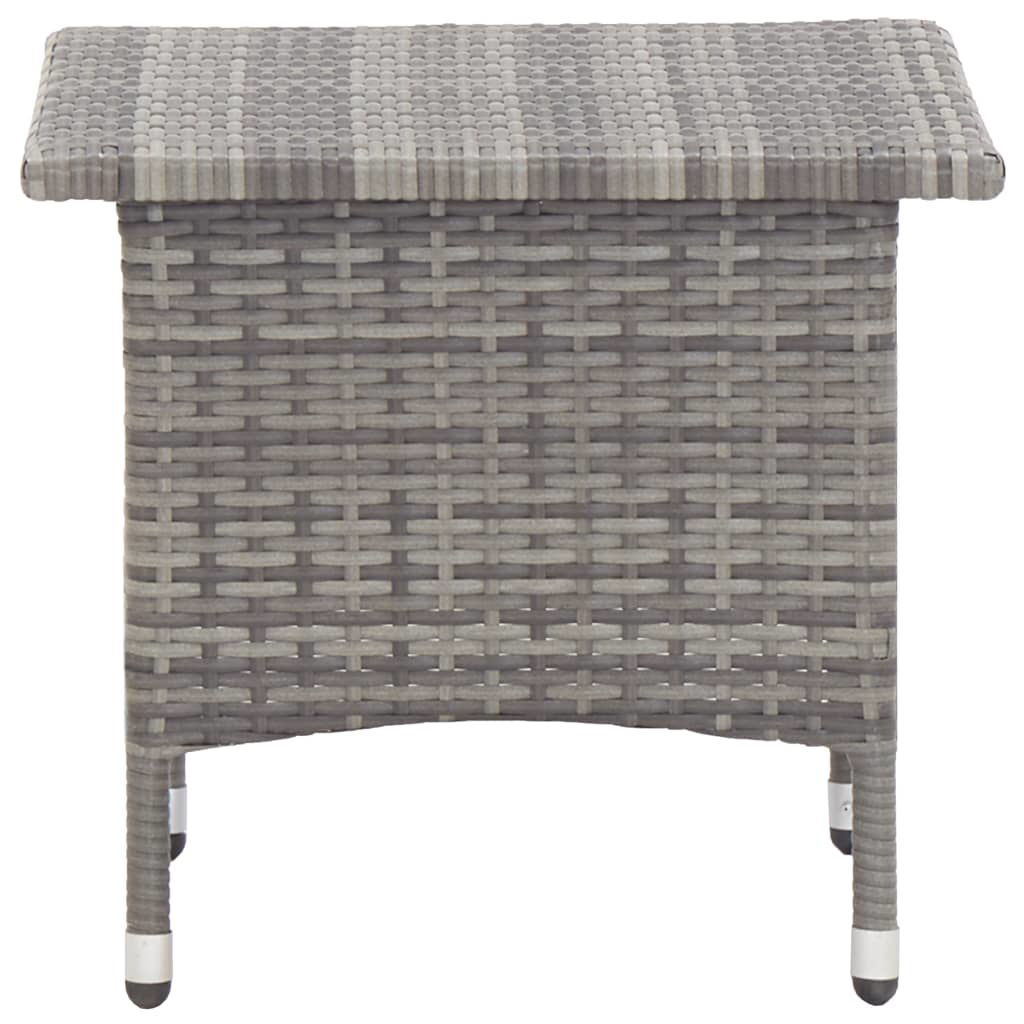 "Picture of Outdoor Tea Table 19"" Gray"
