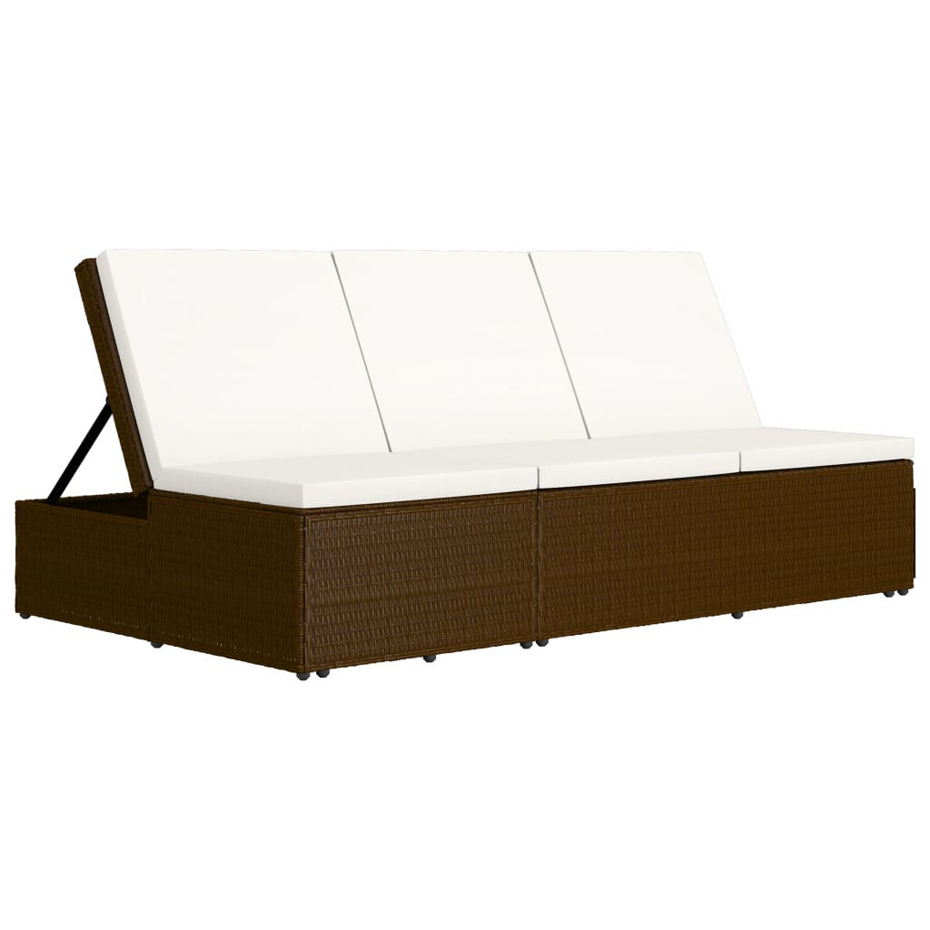 Picture of Convertible SunBed - Brown
