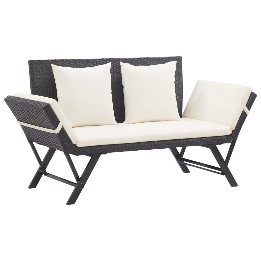 """Picture of Outdoor Bench 69"""" - Black"""