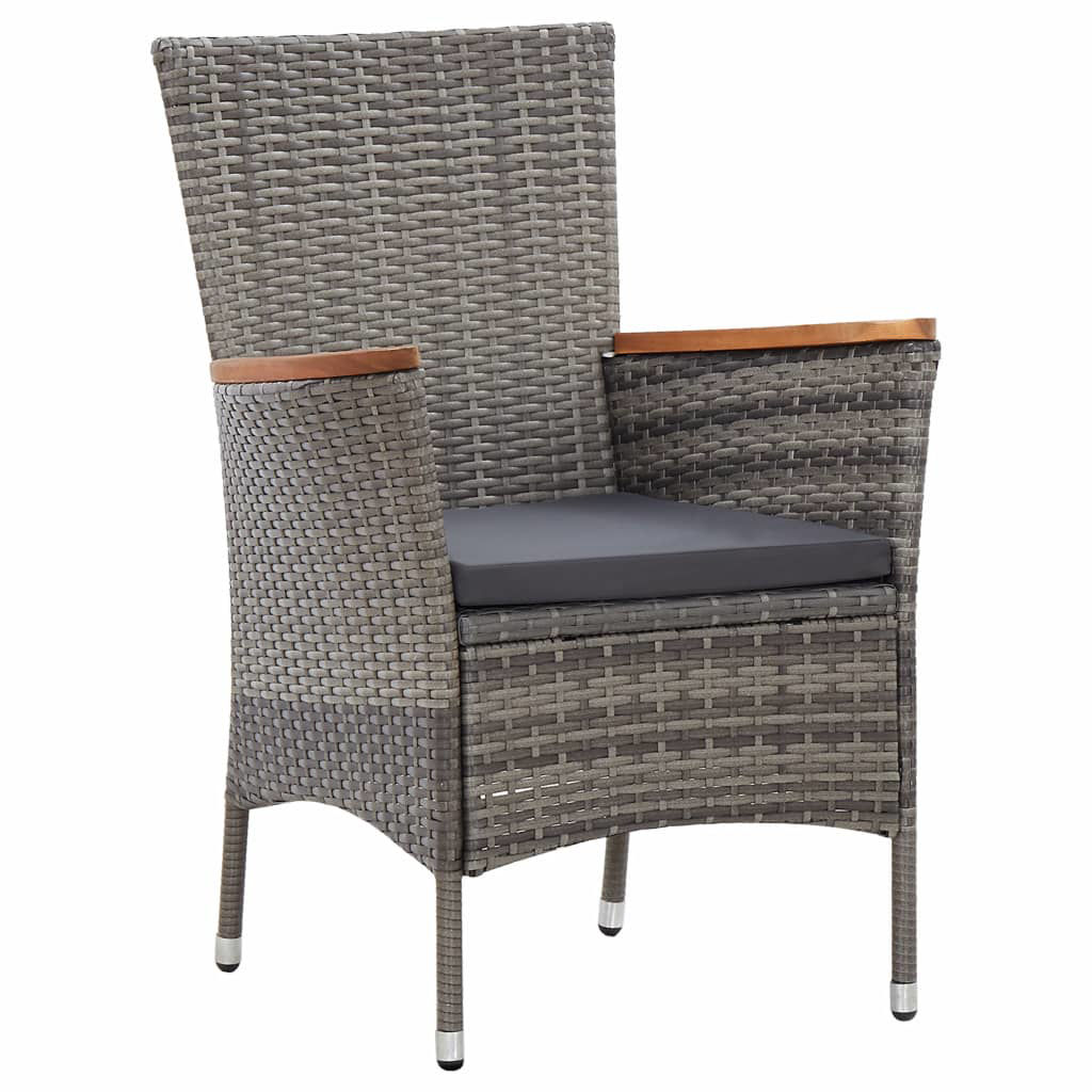 Picture of Outdoor Dining Set - Gray 7 Pc