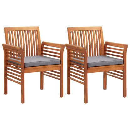 Picture of Outdoor Dining Chairs 2 pc