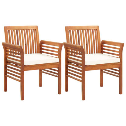 Picture of Outdoor Dining Chairs - 2 pcs