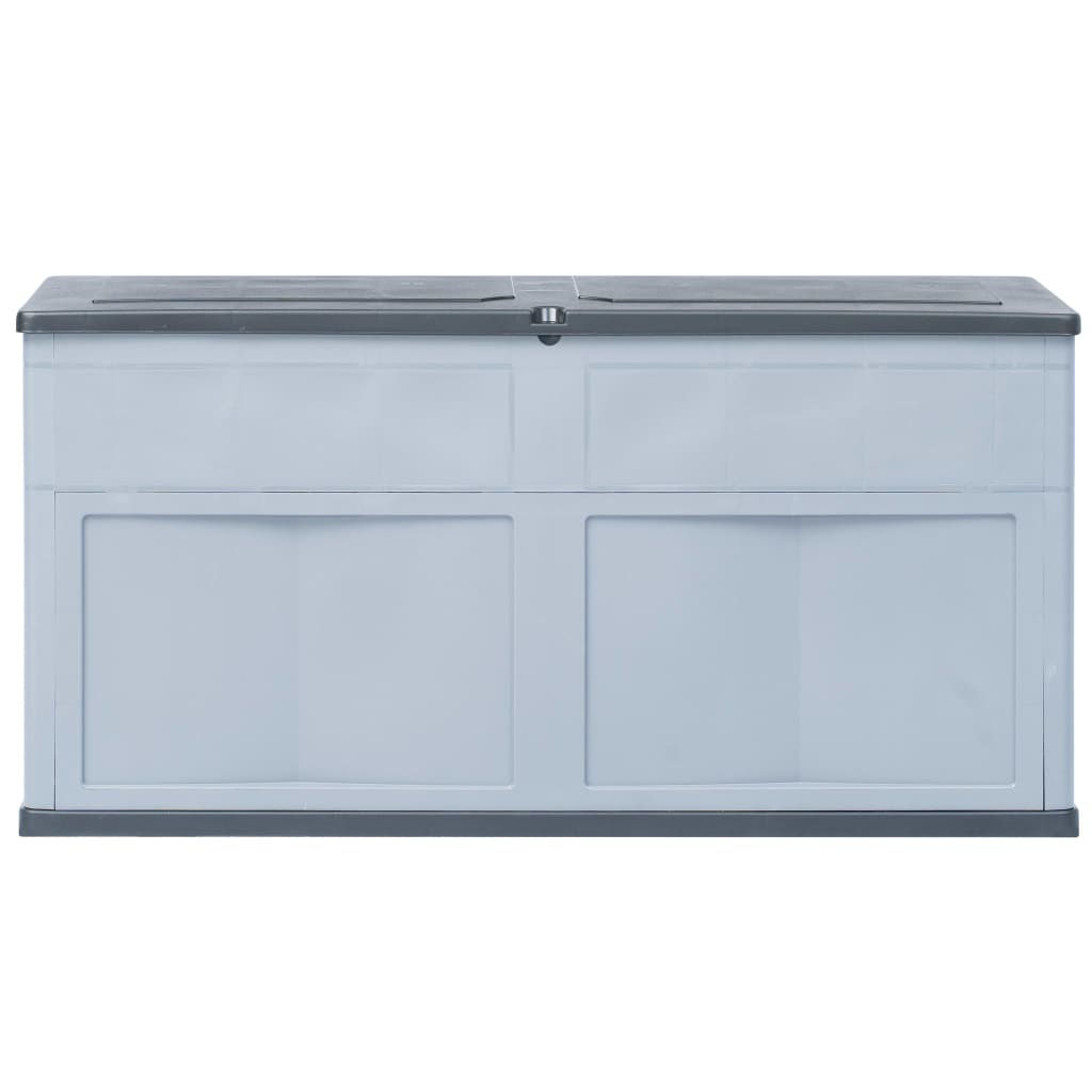 Picture of Outdoor Garden Storage Box 84.5 gal - Gray Black