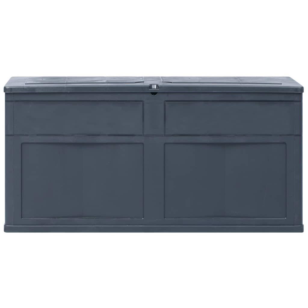 Picture of Outdoor Garden Storage Box 84.5 gal - Black