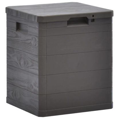 Picture of Outdoor Garden Storage Box 23.8 gal - Brown