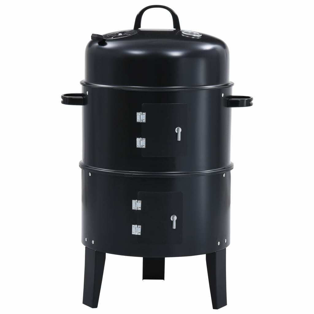 Picture of Outdoor BBQ Grill Smoker 3-in-1