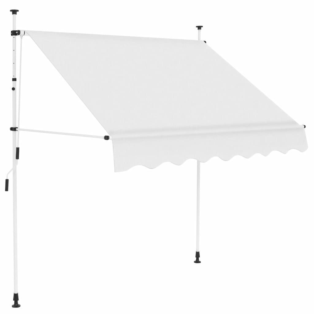 """Picture of Outdoor Awning 78"""" - Cream"""