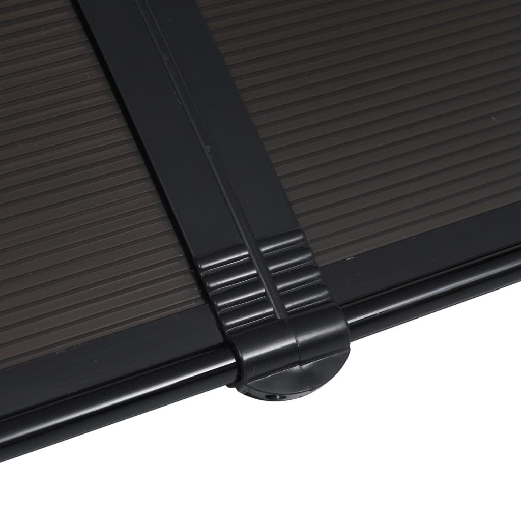 """Picture of Outdoor Door Canopy 118"""" - Black"""