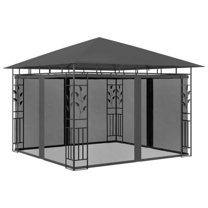 Picture of Outdoor Gazebo Tent with Mosquito Net 10' x 10'