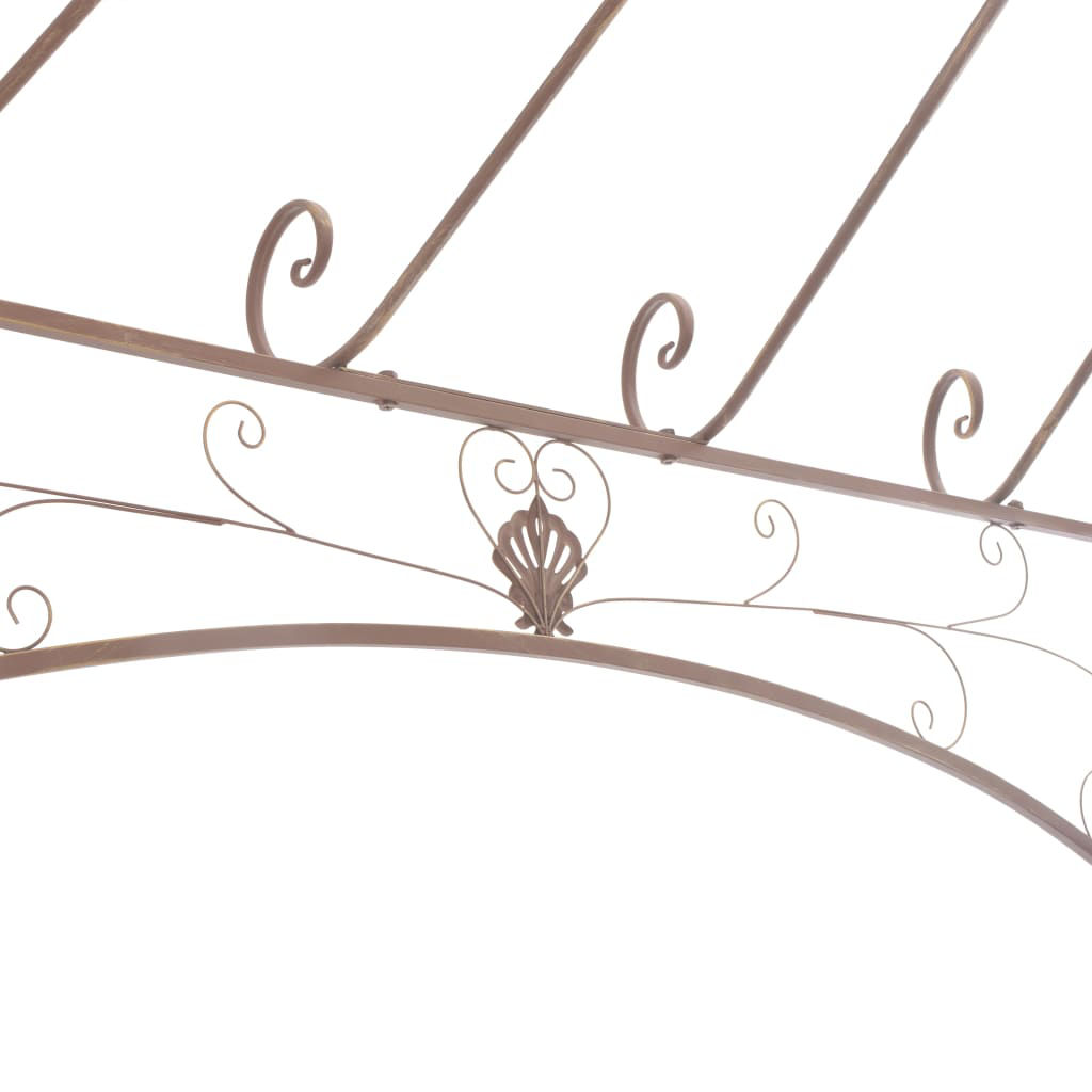 Picture of Outdoor Iron Gazebo 13' - Brown
