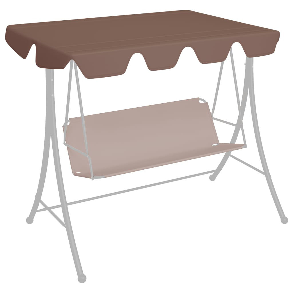 Picture of Outdoor Swing Top Replacement - Brown