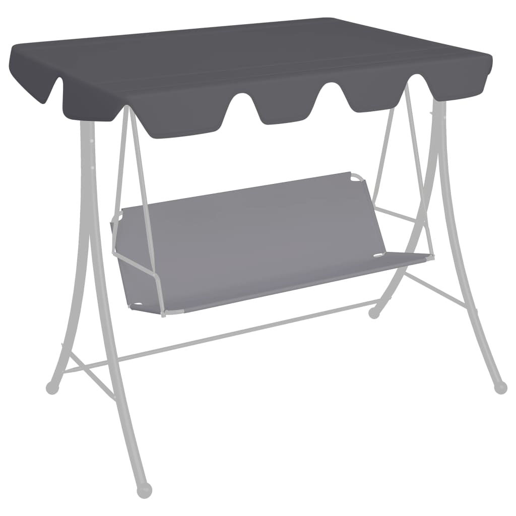 Picture of Outdoor Swing Top Replacement - Anthracite