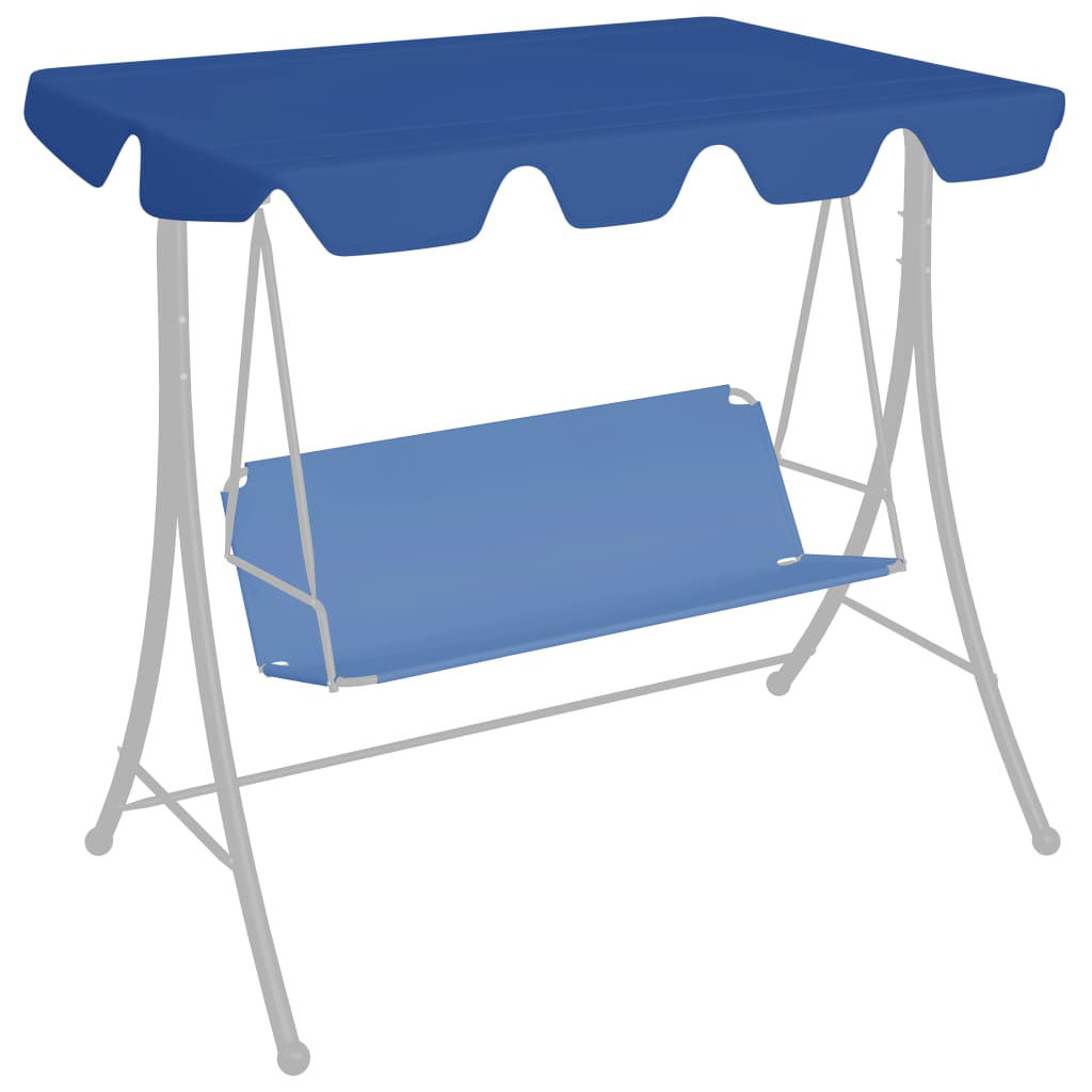 Picture of Outdoor Swing Canopy Top Replacement - Blue