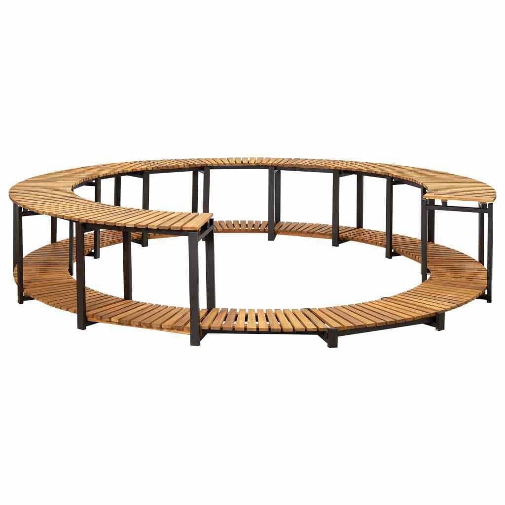Picture of Outdoor Hot Tub Surround - Acacia Wood