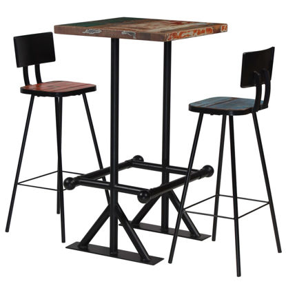 Picture of Wooden Bar Set - 3 pc