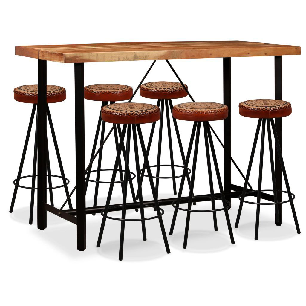 Picture of Wooden Bar Set - 7pc