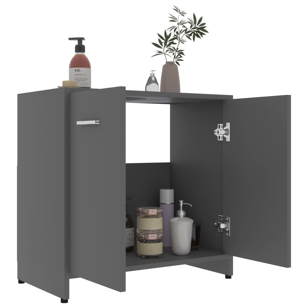 Picture of Bathroom Cabinet - Gray