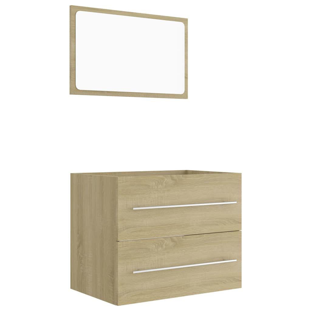 "Picture of 23"" Bathroom Furniture Set - Sonoma Oak"