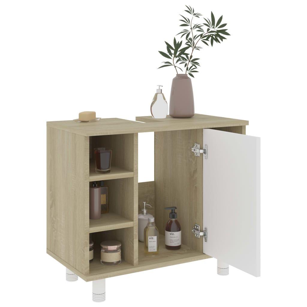"Picture of 31"" Bathroom Furniture Set - 3pc Sonoma Oak and White"