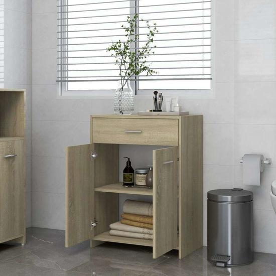 """Picture of 23"""" Bathroom Cabinet - Sonoma Oak"""