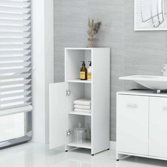 """Picture of 11"""" Bathroom Cabinet - White"""