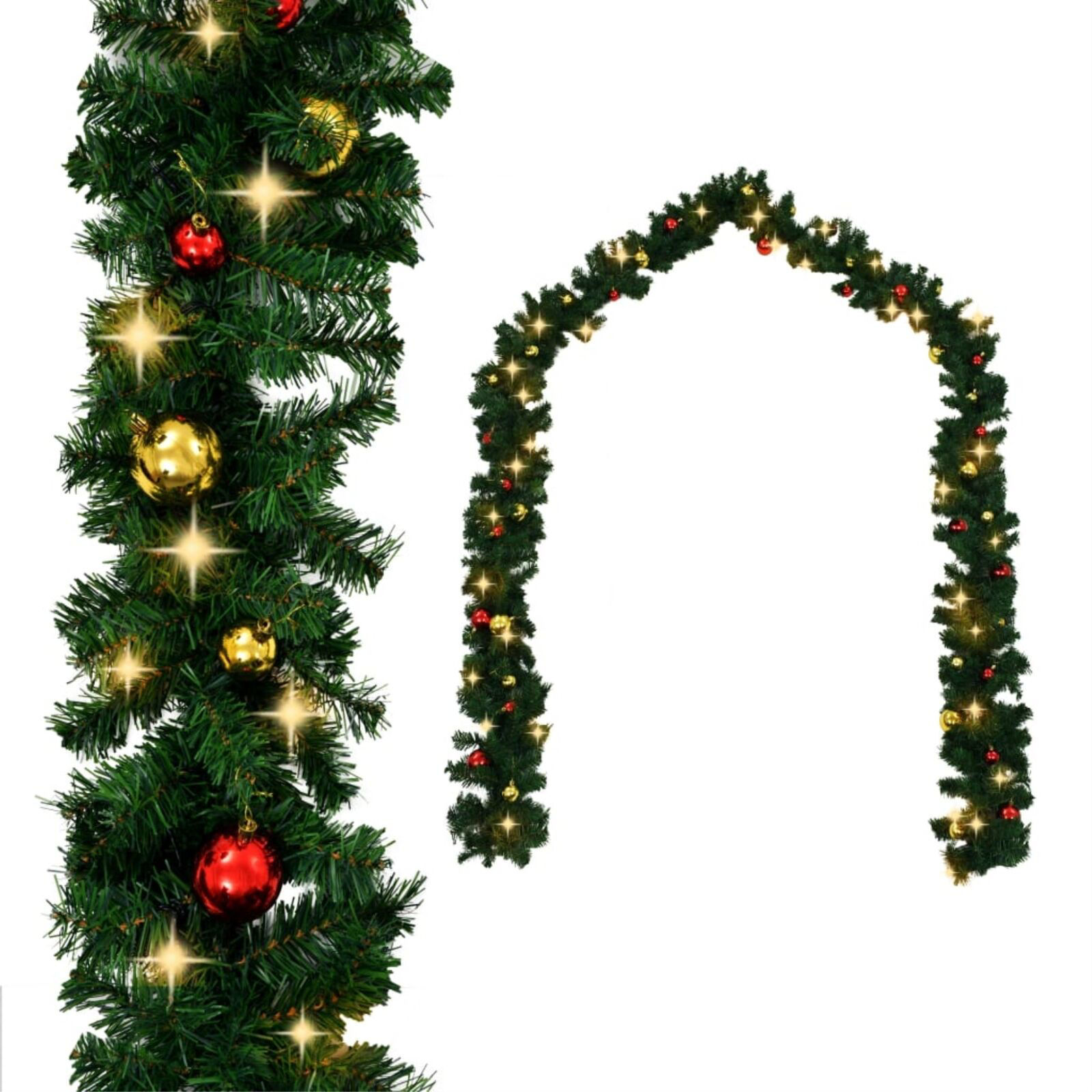 Picture of Christmas Garland with LED Lights 65'