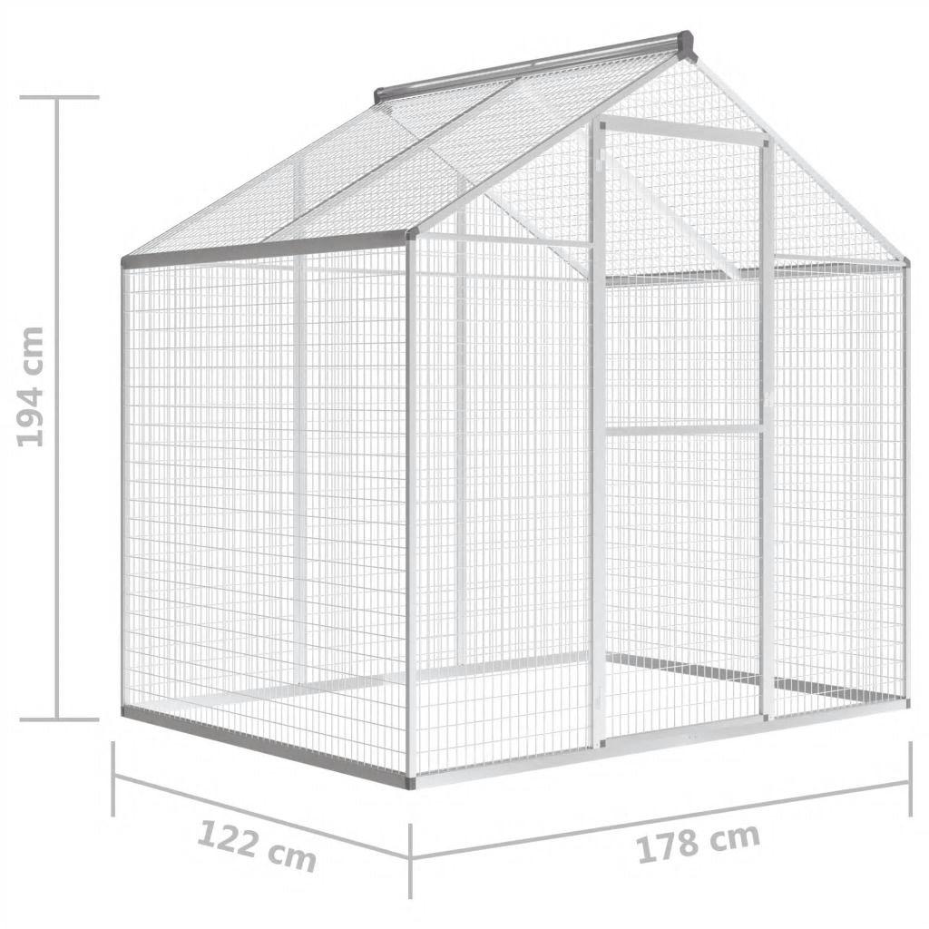 Picture of Outdoor Aluminium Pet Aviary