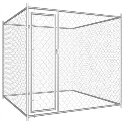 Picture of Outdoor Dog Kennel - 6'