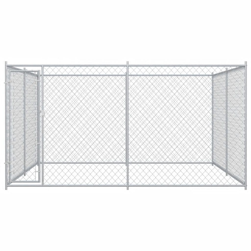 Picture of Outdoor Dog Kennel - 12'