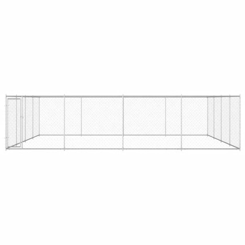 Picture of Outdoor Galvanized Steel Dog Kennel - 25'