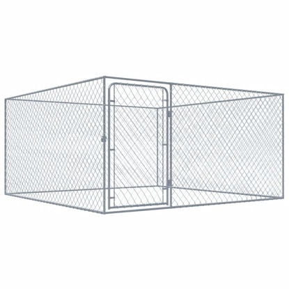 Picture of Outdoor Dog Kennel - Galvanised Steel